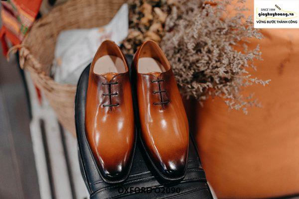 Giày buộc dây nam đẹp chỉ từ 1 miếng da Oxford Wholecut O2090 001