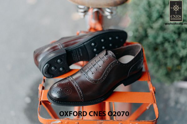 Giày da nam hàng hiệu Việt Nam Oxford O2070 005