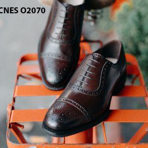 Giày da nam hàng hiệu Việt Nam Oxford O2070 004