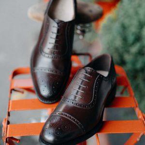 Giày da nam hàng hiệu Việt Nam Oxford O2070 003