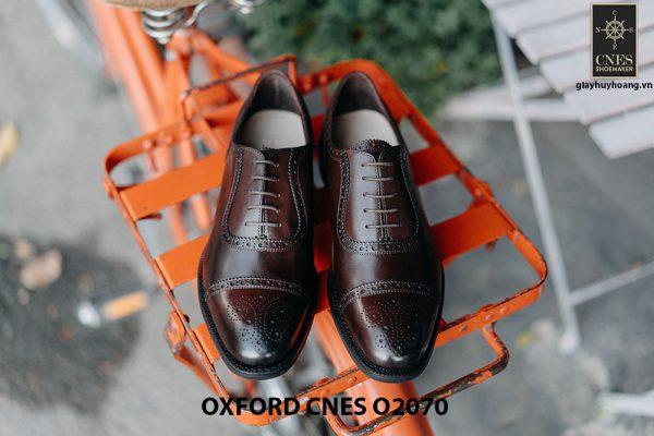 Giày da nam hàng hiệu Việt Nam Oxford O2070 001