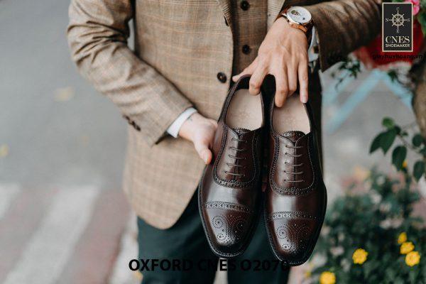 Giày da nam hàng hiệu Việt Nam Oxford O2070 002