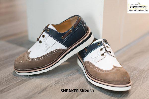 Giày da nam thể thao buộc dây Sneaker SK2033 002
