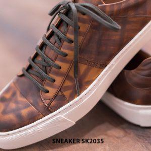 Giày da nam cao cấp chính hãng Sneaker SK2035 007