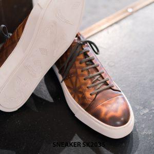 Giày da nam cao cấp chính hãng Sneaker SK2035 005