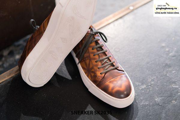 Giày da nam cao cấp chính hãng Sneaker SK2035 004