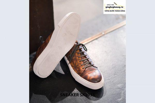 Giày da nam cao cấp chính hãng Sneaker SK2035 003