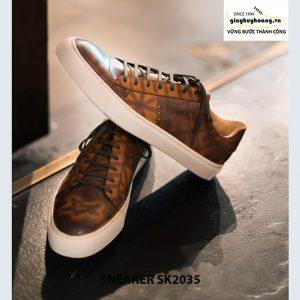 Giày da nam cao cấp chính hãng Sneaker SK2035 002
