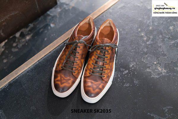 Giày da nam cao cấp chính hãng Sneaker SK2035 001