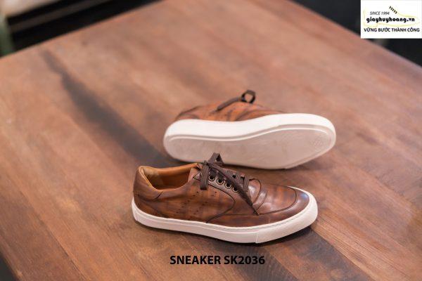 Giày da nam làm từ thủ công Sneaker SK2036 006