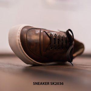 Giày da nam làm từ thủ công Sneaker SK2036 003