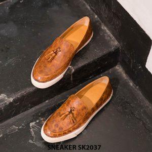 Giày da nam không dây có chuông Sneaker SK2037 001