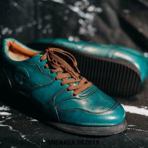 Giày da nam đế bằng cao cấp Sneaker SK2019 006