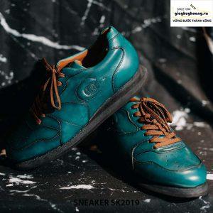 Giày da nam đế bằng cao cấp Sneaker SK2019 005