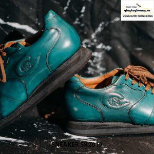 Giày da nam đế bằng cao cấp Sneaker SK2019 004