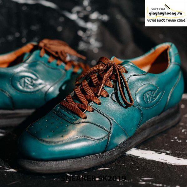 Giày da nam đế bằng cao cấp Sneaker SK2019 003