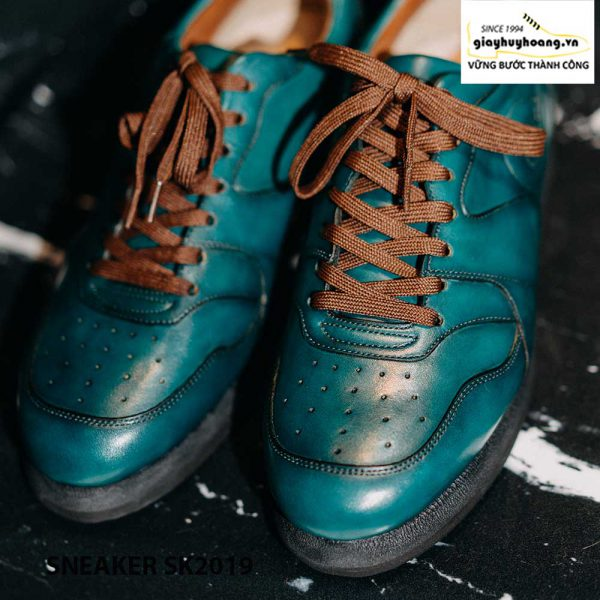 Giày da nam đế bằng cao cấp Sneaker SK2019 002