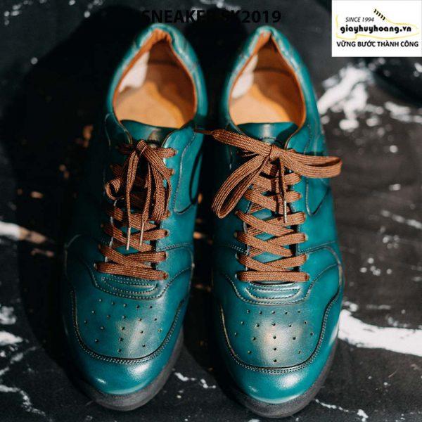 Giày da nam đế bằng cao cấp Sneaker SK2019 001
