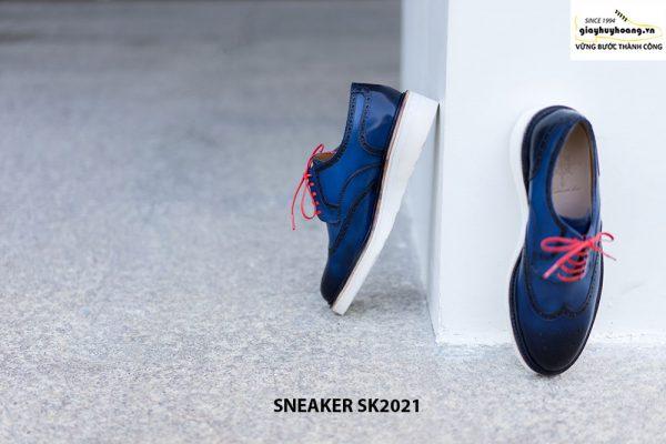 Giày da nam cao cấp hàng hiệu Sneaker SK2021 004