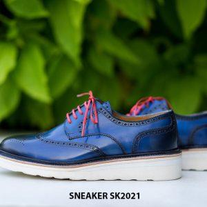 Giày da nam cao cấp hàng hiệu Sneaker SK2021 002