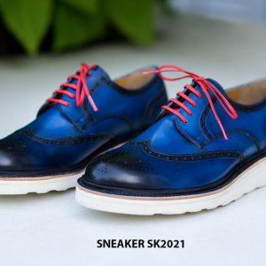 Giày da nam cao cấp hàng hiệu Sneaker SK2021 001