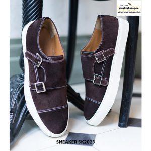 Giày sneaker nam da lộn thời trang SK2023 001