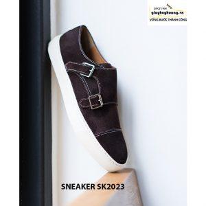Giày sneaker nam da lộn thời trang SK2023 002