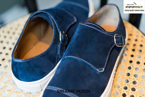 Giày sneaker nam đế bằng da lộn SK2024 003