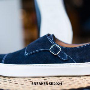 Giày sneaker nam đế bằng da lộn SK2024 002