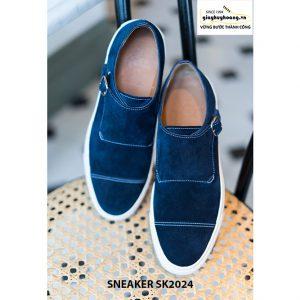 Giày sneaker nam đế bằng da lộn SK2024 001