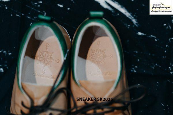 Giày da nam chính hãng êm chân Sneaker SK2025 003