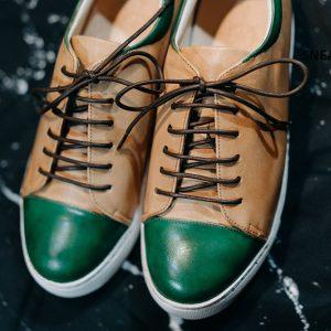 Giày da nam chính hãng êm chân Sneaker SK2025 002