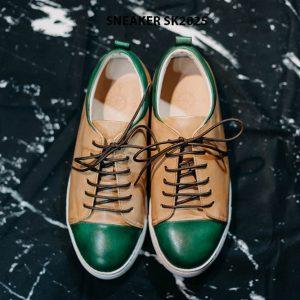 Giày da nam chính hãng êm chân Sneaker SK2025 001