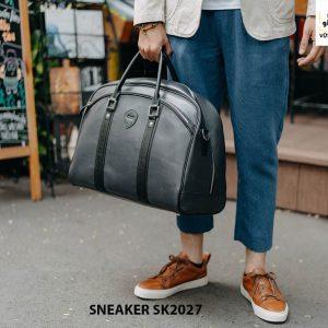 Giày da nam đế bằng thời trang cao cấp Sneaker SK2027 005