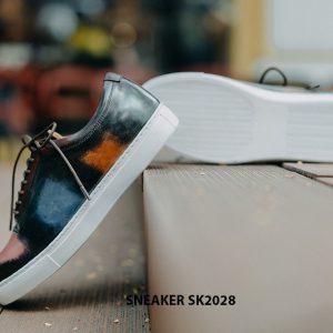 Giày da nam mũi tròn thời trang Sneaker SK2028 003