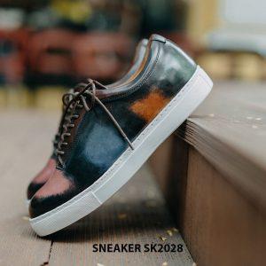 Giày da nam mũi tròn thời trang Sneaker SK2028 002