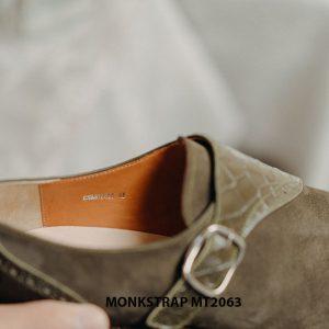 Giày da nam kiểu cách Single Monkstrap MT2063 005