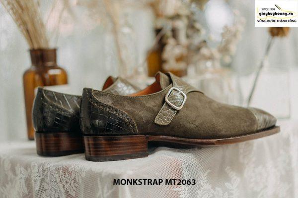 Giày da nam kiểu cách Single Monkstrap MT2063 004