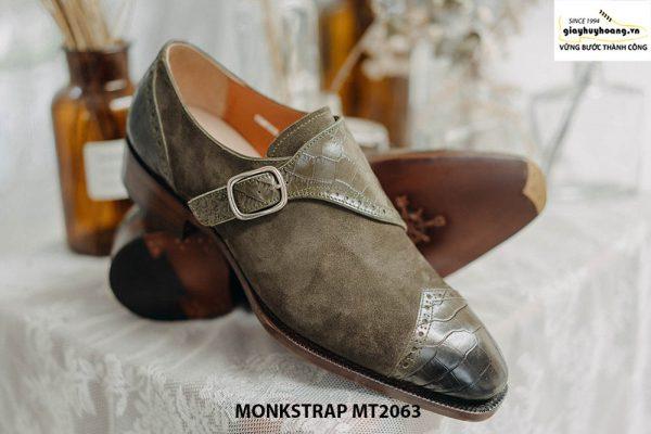 Giày da nam kiểu cách Single Monkstrap MT2063 003