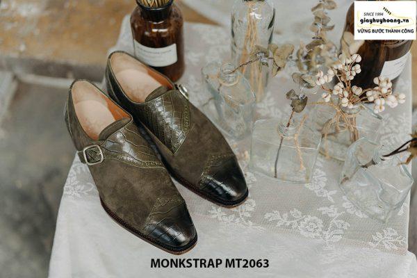 Giày da nam kiểu cách Single Monkstrap MT2063 001