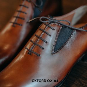 Giày da nam dây giả chính hãng Oxford O2104 007