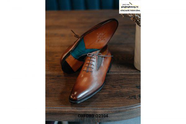 Giày da nam dây giả chính hãng Oxford O2104 004