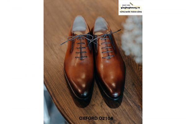 Giày da nam dây giả chính hãng Oxford O2104 003