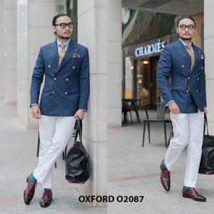 Giày tây nam có màu sáng đẹp Oxford O2087 003