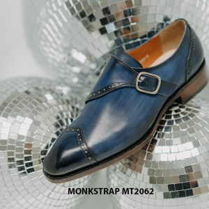 Giày tây nam đánh Patina Single Monkstrap MT2062 008