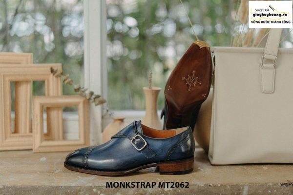 Giày tây nam đánh Patina Single Monkstrap MT2062 006