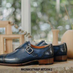 Giày tây nam đánh Patina Single Monkstrap MT2062 005