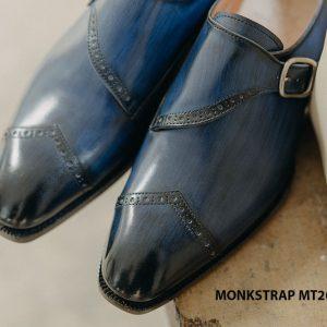 Giày tây nam đánh Patina Single Monkstrap MT2062 001