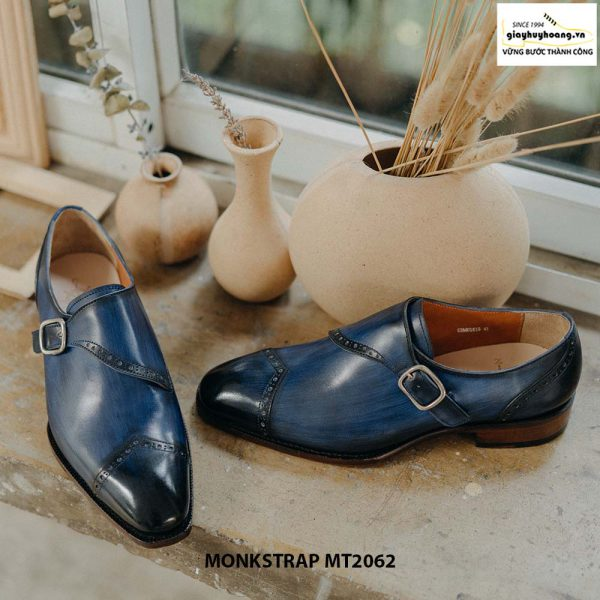 Giày tây nam đánh Patina Single Monkstrap MT2062 003