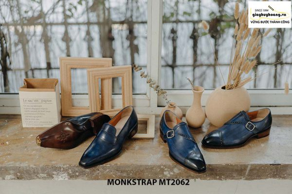 Giày tây nam đánh Patina Single Monkstrap MT2062 002
